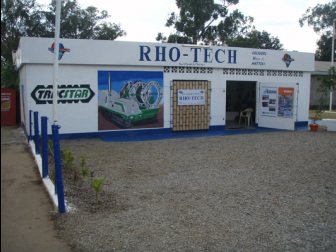 RHO-TECH has a stores and workshop for HDPE pipes and fittings in Kitwe, Zambia